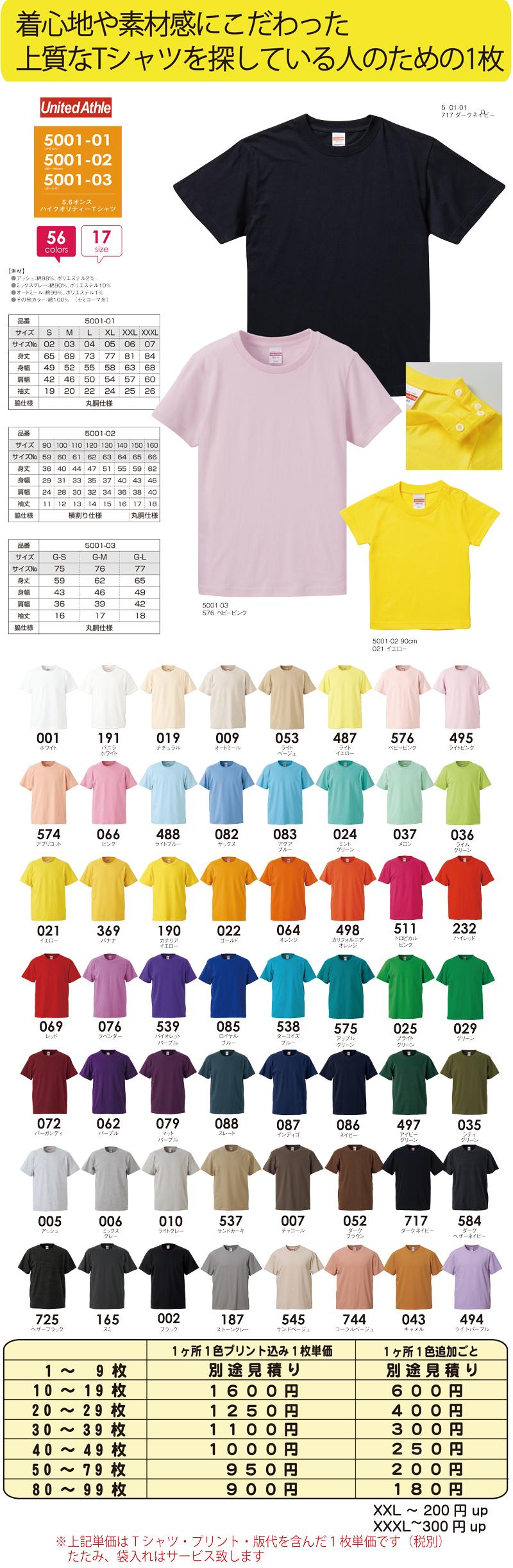スリービー Tシャツ 5001